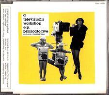 Pizzicato Five – A Television's Workshop E.P. 1994 JAPAN EP CD (COCA-11506)
