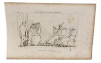 The Iilad Homer Odyssey Engraving John Flaxman 1805 Ulysses Weeps Song Demodocus