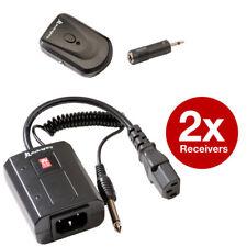 Wireless AC/FM Strobe/Studio Flash Remote Trigger Kit +2 Receivers - DLSR Camera