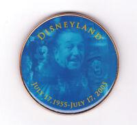 Disneyland Park 50th Birthday July 17 2005 Walt Disney Magnet