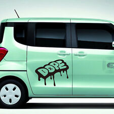 Graffiti Lettering Quotes Wall Stickers Car Decor Vinyl Art Mural Removable