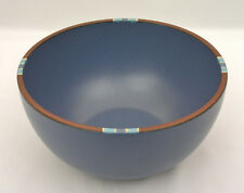 "DANSK PORTUGAL - MESA SKY BLUE - 8 1/2"" ROUND MIXING BOWL - EXCELLENT CONDITION"