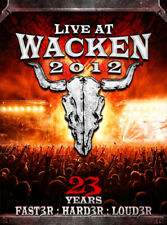 Live at Wacken 2012 DVD (2013) cert E 3 discs ***NEW*** FREE Shipping, Save £s
