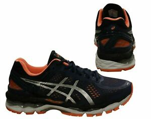 Asics Gel Kayano 22 2E Mens Lace Up Trainers Running Casual T548N 5093 B73D