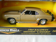1970 BALDWIN MOTION CAMARO SS RARE ERTL 1//18
