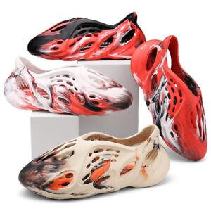 NEW Unisex Comfort Lightweight Holes Sandals Clogs Water Shoes Beach Footwear