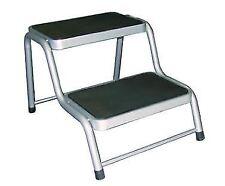 REIMO Carbest Steel Double / 2 Step for Motorhome/Campervan/Caravan/Outdoors