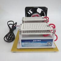 20000mg/h Ozone Generator Living Air Purifier Ozone Disinfection Machine w/ Fan