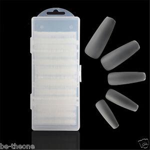 360pcs Ultra Thin Square False Nails Full Cover Nail Art Tips KS01