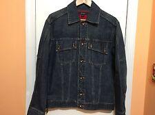 Sean John Men's Denim Blue Jacket Size-M