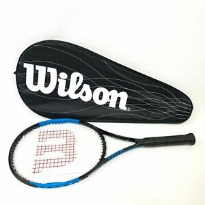 Branded Wilson Ultra Comp Tennis Racket L3 Grip with Paded Cover - Free Postage