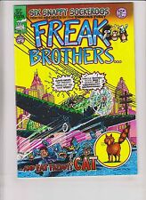 Freak Brothers #6 FN unknown printing not in guide - gilbert shelton underground