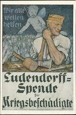 Ludendorff Spende Kriegsbeschaedigte  AJ.335