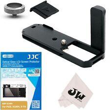 JJC 5in1 Kit Hand Grip+Screen Protector+Soft Button for Fujifilm Fuji X-E4 XE4