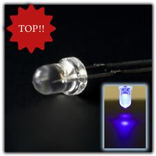 200 unidades LED 3mm blanco frío difuso super brillante