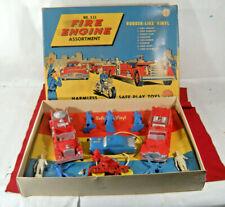 Auburn Rubber Fire Engine Assortment #533 Rare 1950's