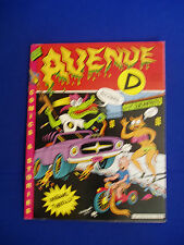 Glenn Head's Avenue D : underground comic. 1991. Mag-sized.