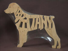 Brittany Spaniel Wooden Sporting   Dog  Scroll Saw Toy Puzzle