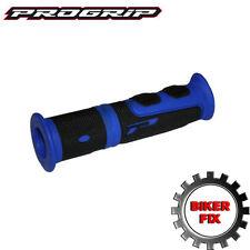 ProGrip 964 ATV QUAD Grips Blue & Black 120mm Length Yamaha Gruin Blaster Raptor
