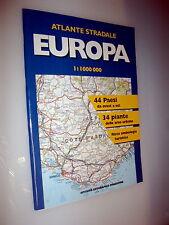 EUROPA  atlante stradale 1:1000 000 ISTITUTO GEOGRAFICO DE AGOSTINI