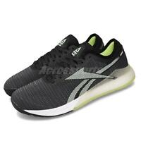 Reebok Nano 9 Black White Yellow CrossFit Men Cross Training Fitness Shoe FU7518