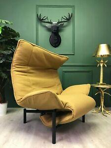 Vintage Veranda Chair Chaise Longue by Vico Magistretti for Cassina