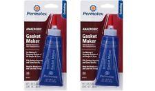Permatex 51813 Anaerobic Gasket Maker, 50 ml Tube New 2 PACK