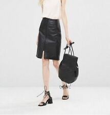 Leather A-Line Dry-clean Only Skirts for Women