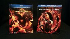 The Hunger Games 2012: Blu-Ray+DVD/ Catching Fire 2013: 2 Disc Blu-Ray