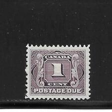 CANADA FIRST POSTAGE DUE ISSUE 1 CENT  # J-1    BIG SALE
