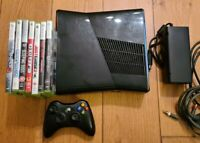 Xbox 360 S 250GB Console Bundle Wireless Controller and 7 Games