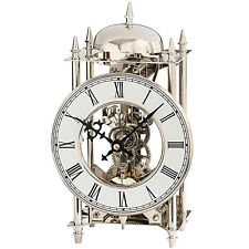 AMS 50 Style Watch 1184 Analog Table Clock 14-tage Striking Mechanism on Bell