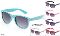 Kids Polka Dots Sunglasses Classic Boys Girls Party Events Lead Free UV 100%