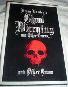 Ghoul Warning Other Omens Ltd Signed Ed HB by Brian Lumley Necronomicon Press DJ