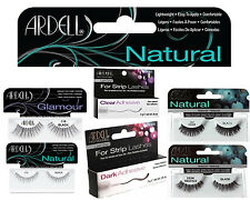 Ardell 100% Human Hair False Eyelashes Fashion/Glamour/Natural Lashes/Adhesive