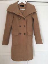 Zara Camel Beige Tan Coat  Jacket xs
