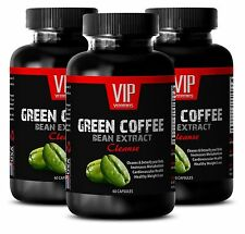 Weight loss natural - GREEN COFFEE BEEN EXTRACT- Body cleanse diet -3B