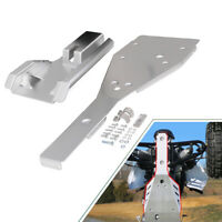 Full Chassis Glide & Swing Arm Skid Plate Gaurd Combo Fit for Yamaha Raptor