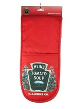 Heinz 100% Cotton Oven Gloves Tomato Soup great Christmas gift