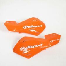2 Protege Main Universel Ø22mm Polisport Freeflow Lite Orange KTM Fix Plastique