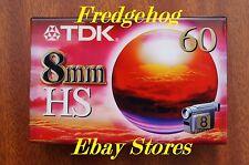 A TOP QUALITY TDK P5-60HS (High Standard) 8mm/ Hi8 CAMCORDER TAPE / CASSETTE