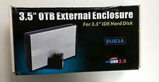 "OTB EXTERNAL ENCLOSURE  FOR 3.5"" 80 GB - HARD DISK ESTERNO 80 GB MOD BUB3A"