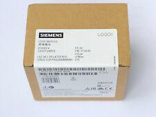 Siemens LOGO Modul 6ED1 052-1FB08-0BA0 230RC (115...240V) AC/DC Jun 20  N E U