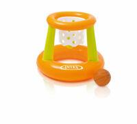 Intex Poolspiel Basketball mit Korb und Ball Ferien Urlaub Wasserball