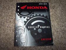 2004 2005 Honda CRF250R CRF 200 R Motorcycle Dirt Shop Service Repair Manual