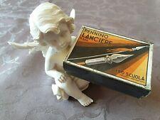 Boite Box 144 plumes nibs pennini feder PRESBITERO LANCIERE TIPO SCUOLA 304 寫羽毛盒