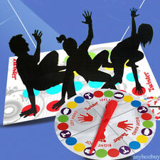 Funny Kids Adult Body Twister Moves Mat Board Game Group Outdoor Sport Toy GiftY