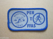 Pen T Ffas Merseystride LDWA Walking Hiking Cloth Patch Badge