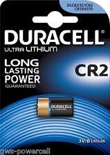 1 x Duracell CR2 CR-2 CR2EP CR17355 DLCR2 Lithium Foto Batterie Blister
