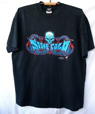 RARE vintage t-shirt 2001 year STEVE AUSTIN. Stone Cold. official WWF.